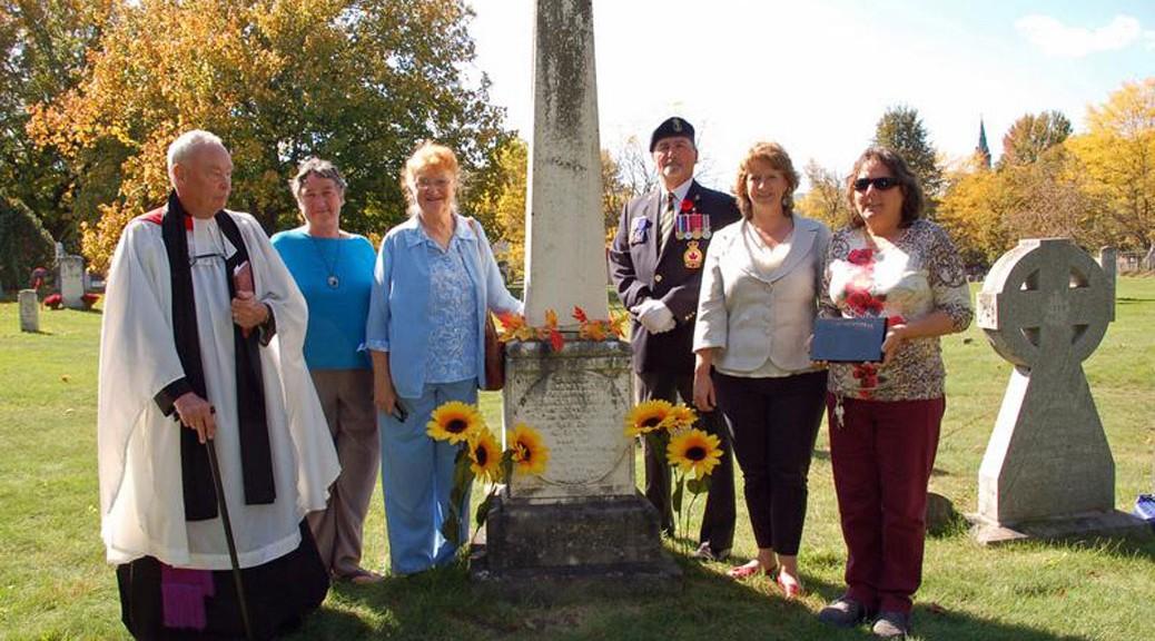 War of 1812 veteran Michael Harris, Perth, Ontario
