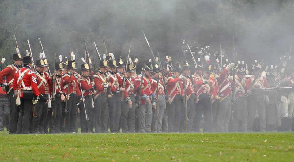 The Thin Red Line, Queenston Heights, 2012