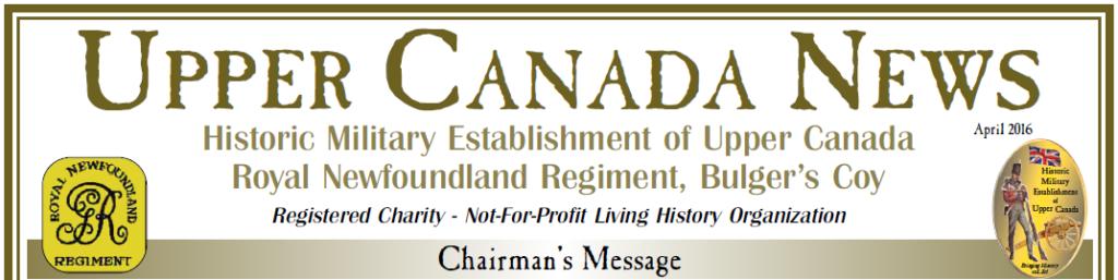 Upper Canada News